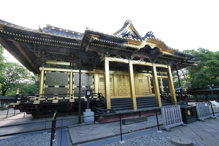 Two minutes walk to Nishi-Nippori Station