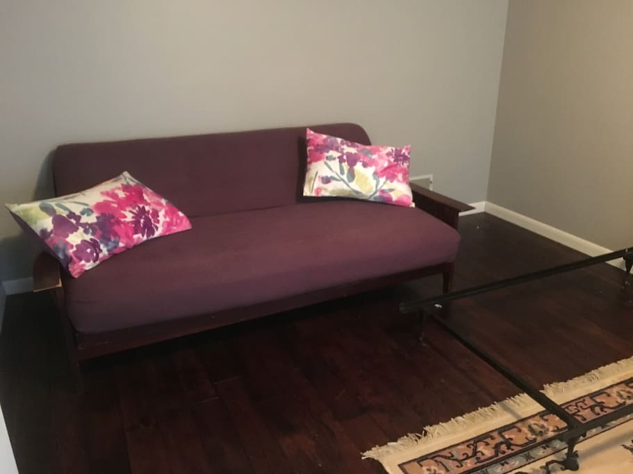 Futon in room for rent