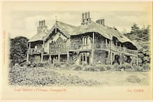 An image of the original Lord Bantry's Cottage.