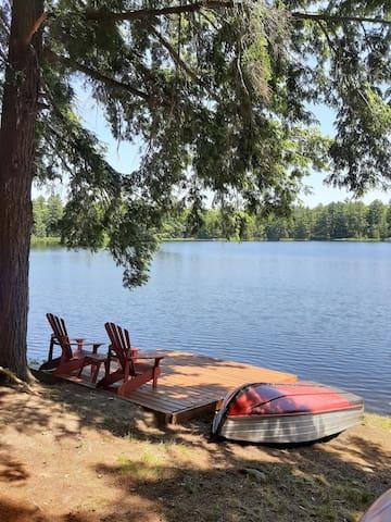 Armishaw Lake Muskoka cottage on a private lake!