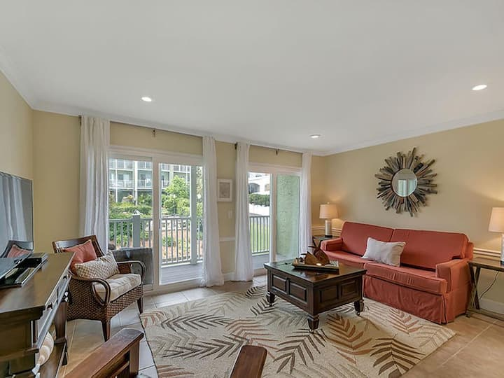 Coastal Townhome | Private Beach Access! Four Miles from Seaside