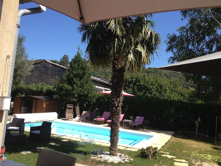Maison de charme st vallier sur rh ne dr me houses for for Piscine vallier