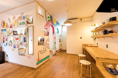 Saga!Super clean dormitory!Enjoy sake, food, onsen