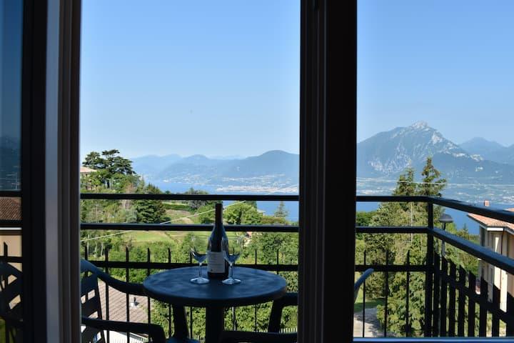 BaldoRomance, der Balkon über dem Gardasee