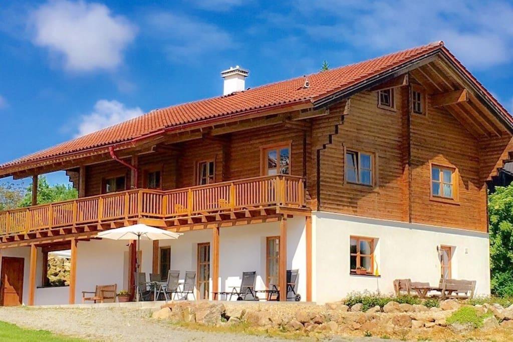 Chalet am Bach Studiowohnung Häuser zur Miete in Bad