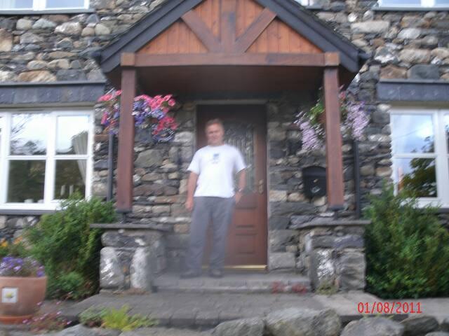Porch in summer