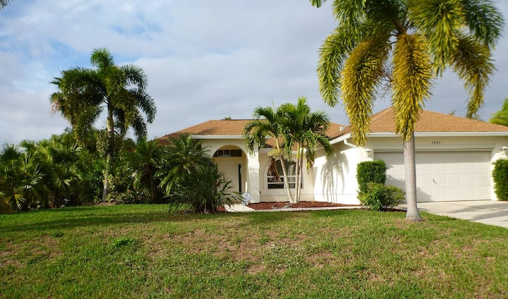 Newly updated gulf-access home for nature lover