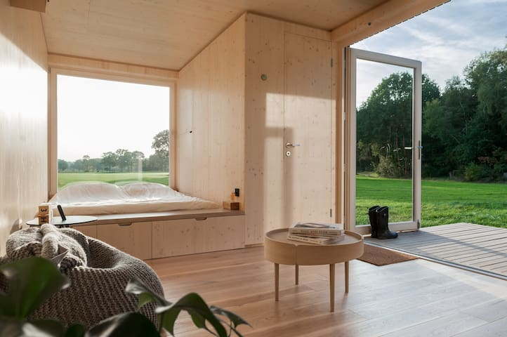 Eco cabin in nature near Antwerp city (+- 15 min)