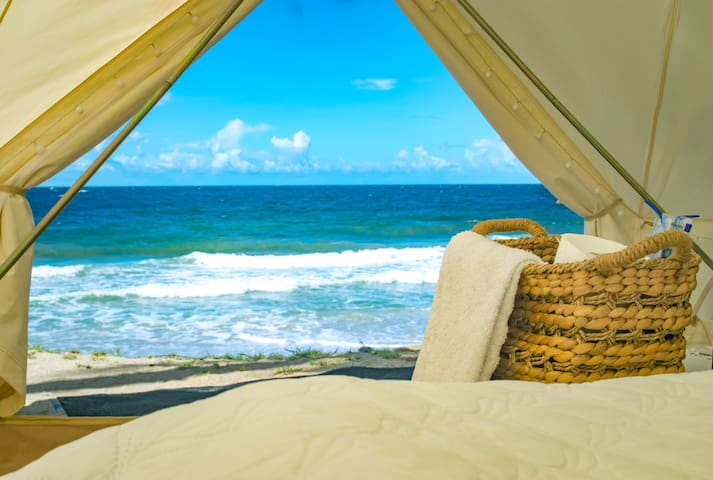 Luxurious Beach Front Glamping in Blanchisseuse