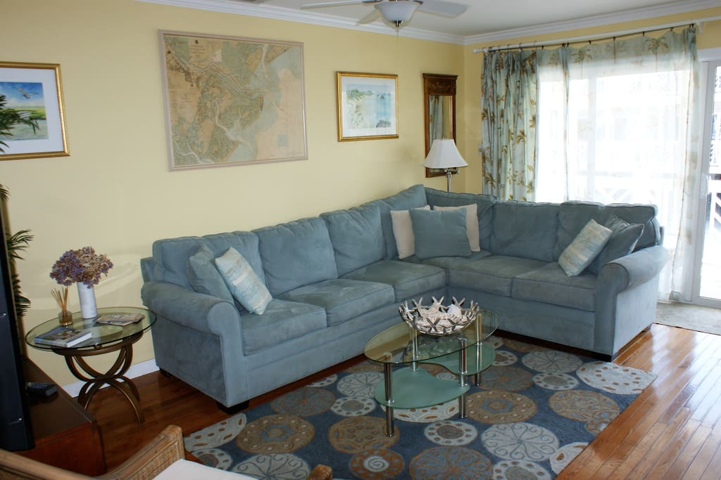 Relax and enjoy the comfortable living area.