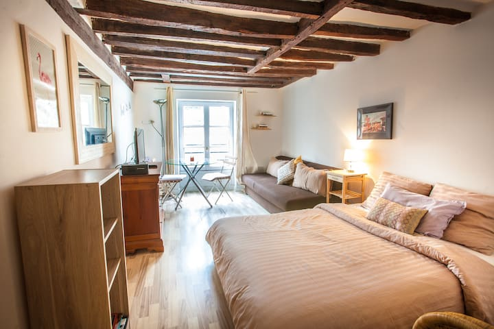 TREMENDOUS FLAT IN THE HEART OF ST GERMAIN