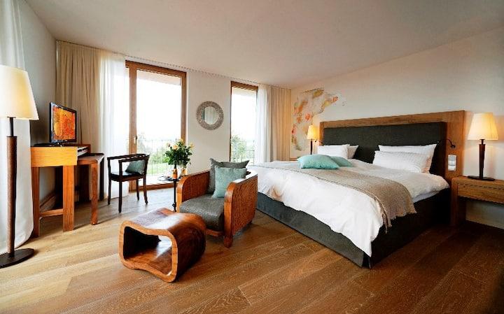 Hotel Gasthaus Hirschen, (Gaienhofen), Doppelzimmer Superior mit Seeblick
