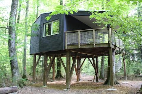 Les Cabanes du Mont, (Coeuve), Les Cabanes du Mont - Cabin n° 4 Jurassicab, (Coeuve), 1-5 pers., 1 room