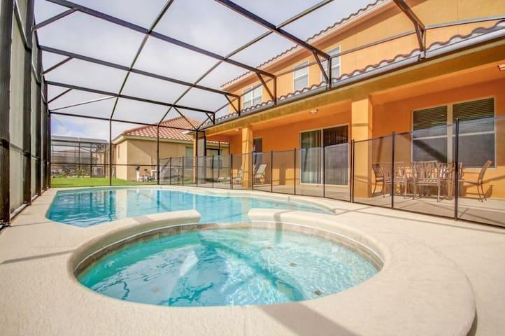 ★ Home Sweet Home Disney Theme / 5 Bath pool/SPA Game Room