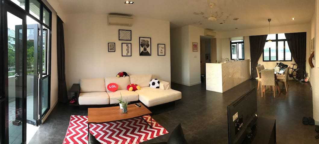 Cosy room close to Botanic Garden and bus/MRT - Singapore - Lejlighed