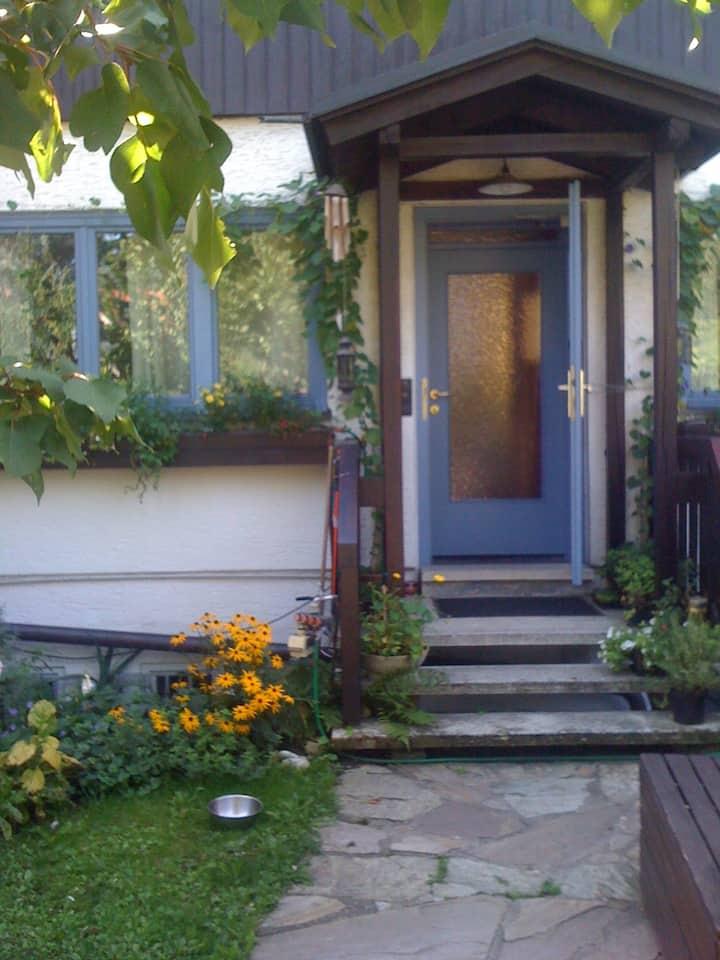 Gästezimmer,ruhiges Einfamilienhaus