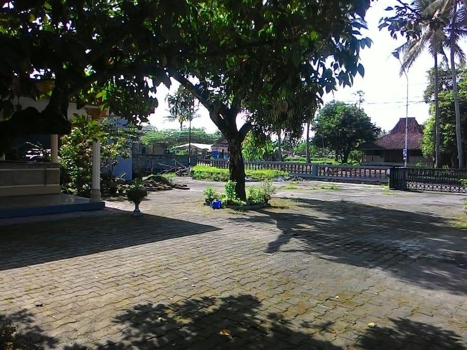 Parking Area, garden Taman, Tempat parkir luas