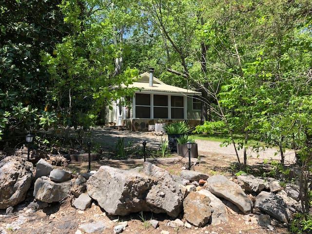 Powell Cabin Inside Turner Falls Park