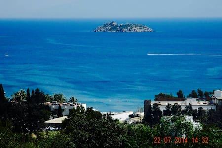 Exceptional villa overlooking the Aegean Sea - โบดรัม - วิลล่า