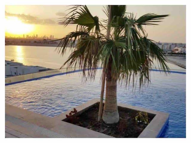Apartment & spa in Dilmunia island