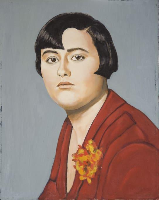 La Mamma - quadro dipinto dall'attuale proprietario ed icona della stanza