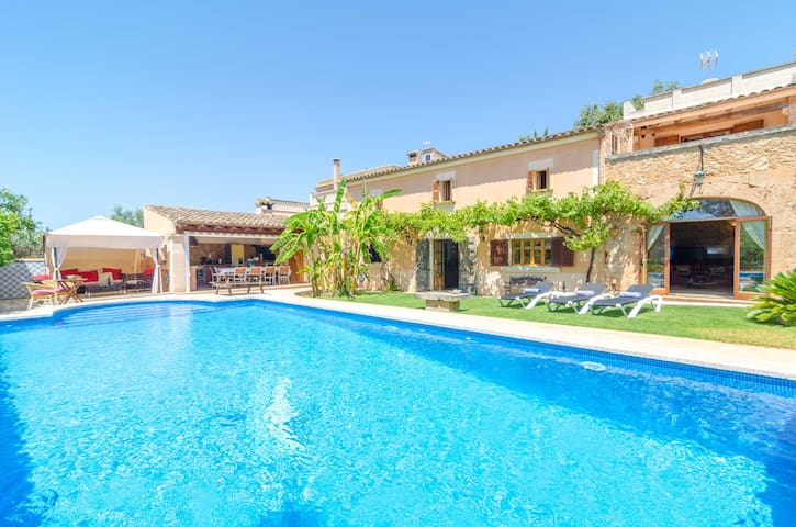 ES PORRASSAR - Villa for 11 people in Cas Concos.