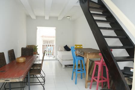 Boutique Room with View in Centre - Cartagena - Apartment