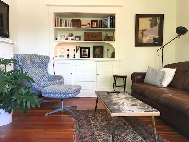 2BR bright character apt above antique shop