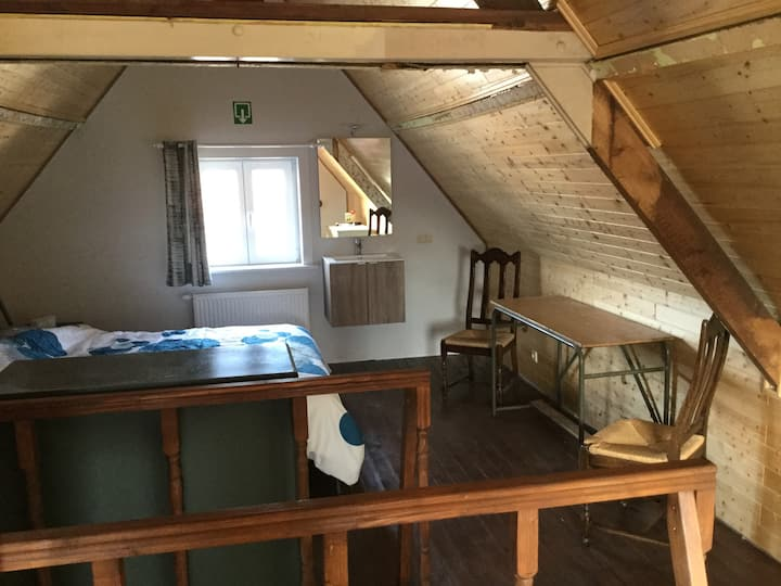 The attic room (wellness included)