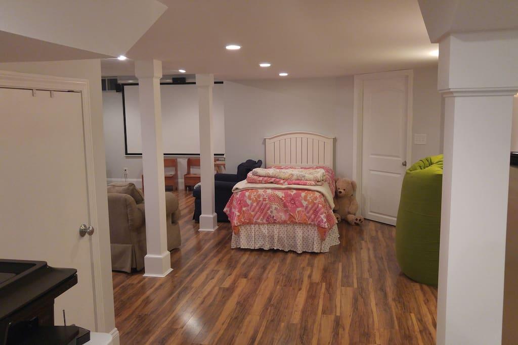 Basement bed#1