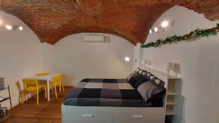 Stylish basement studio in Bologna City Centre