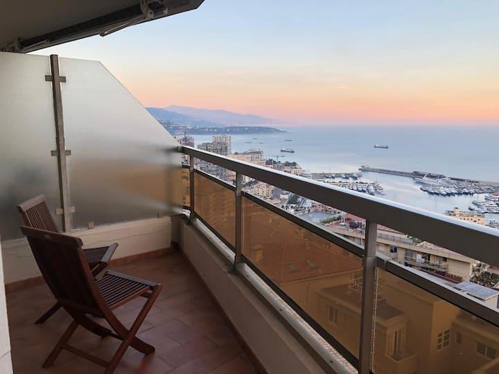 Über den Dächern von Monaco....