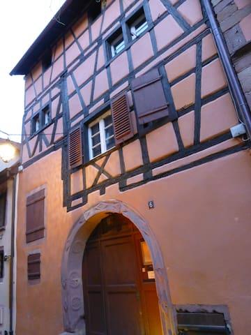 Appartement Le Saint Nicolas au coeur de Riquewihr - Riquewihr - Wohnung