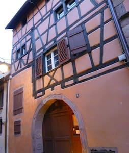 Appartement Le Saint Nicolas au coeur de Riquewihr - Riquewihr - Lejlighed