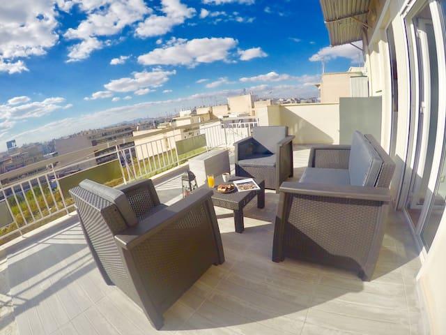 Deluxe,cozy,renovated apt next to Acropolis Athens - Athina