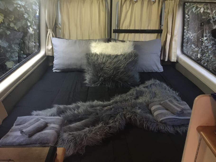 Cosy King Size Bed