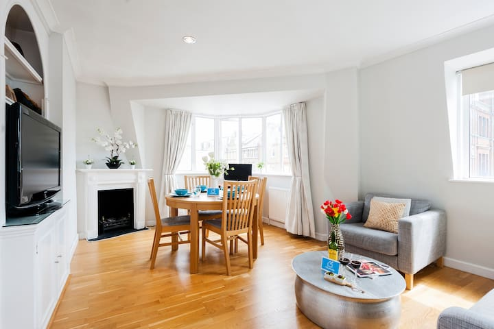 A lovely and bright one bedroom in Chelsea