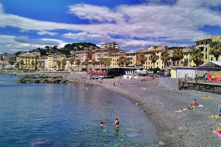 Genoa, apartment near the waterfront, terrace - Genova - Huoneisto