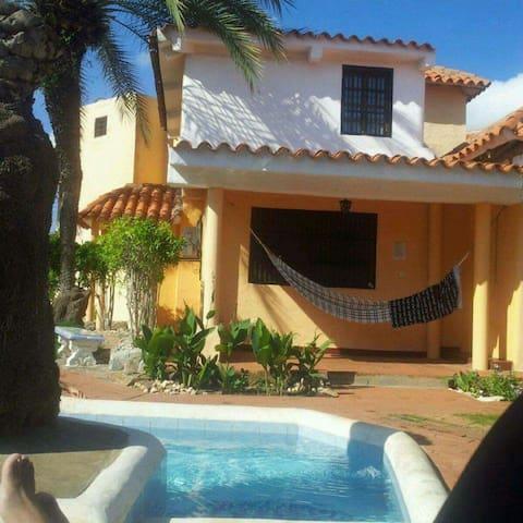Magnifique maison dans les caraïbes - Paraguachí - Hus