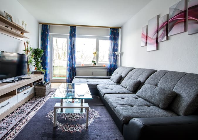 Apartment 900 meters to Hannover Exhibition