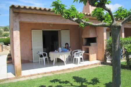 Loue mini villa climatisé 4 pers - Zonza - Villa
