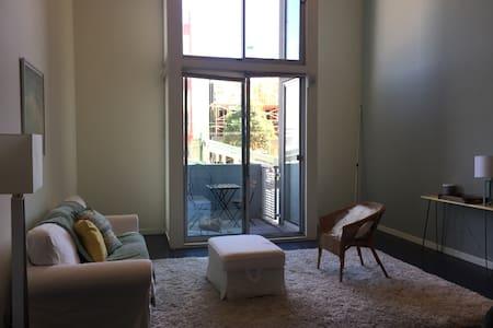 Balcony suite in a homey loft - San Francisco - Loft