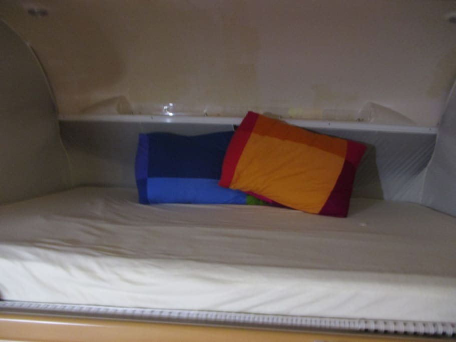 Double Bed allready made...