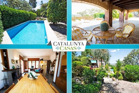 Delightful mountain villa, for 7-8 guests, only 20km from Barcelona! - Sant Cugat del Vallès - Villa