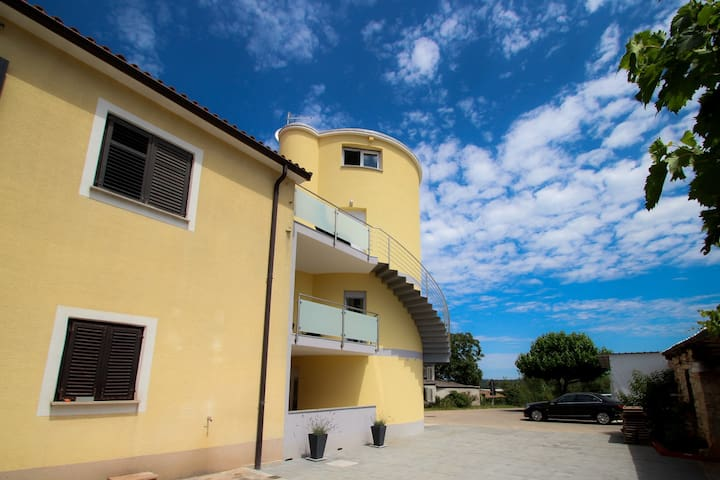 Cosy new apartment in the old grain silo 2 - Novigrad