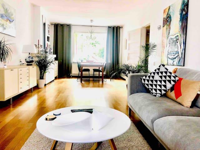 Big, light and spacious living-room