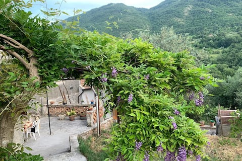 A corner of paradise in Cilento Park