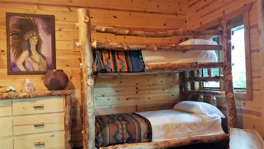 Terrace Level Bunk beds Room sleeps 4