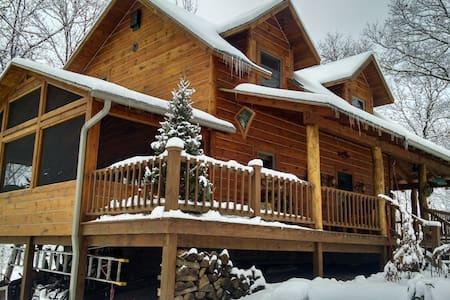 Hyggelig (cozy) winter (only) luxury cabin