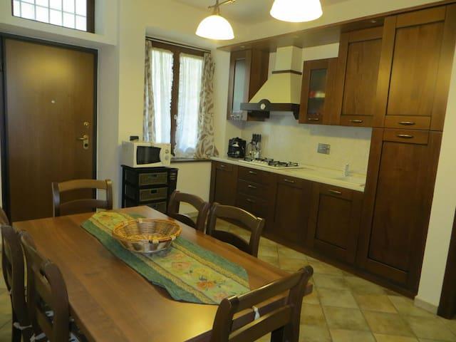Appartamento trilocale nel centro storico di Susa